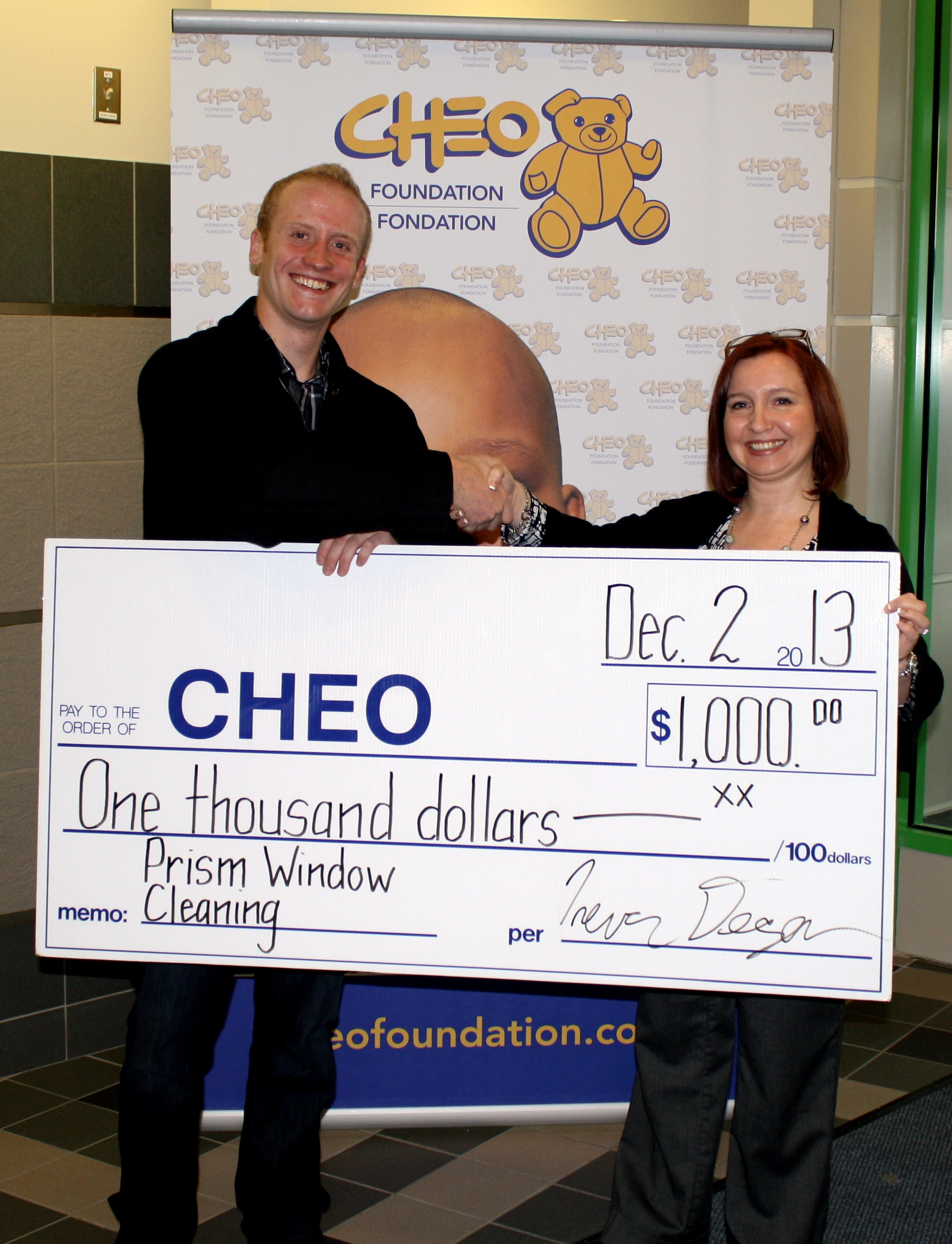 CHEO Foundation support 2013