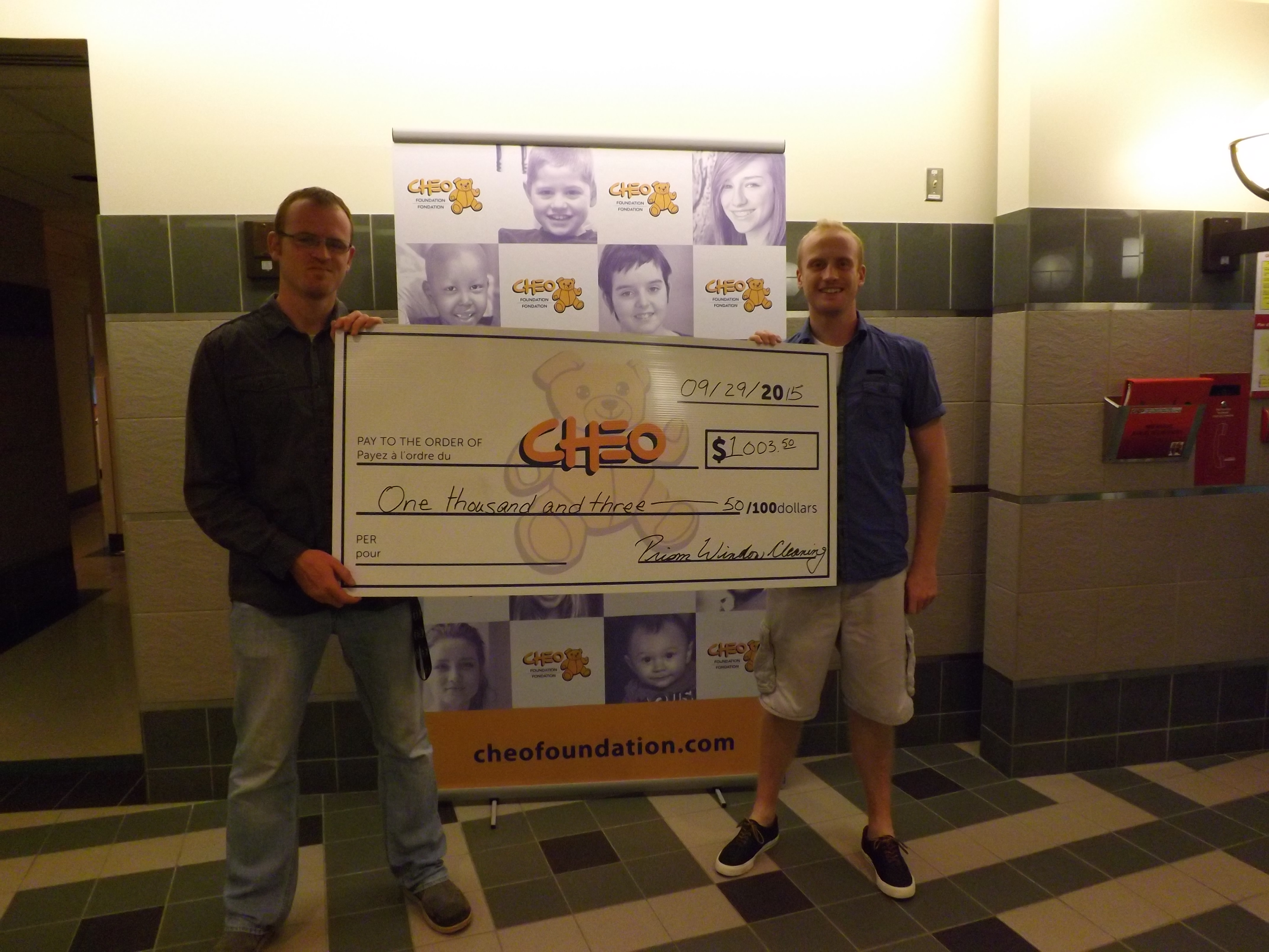 CHEO Foundation support 2015