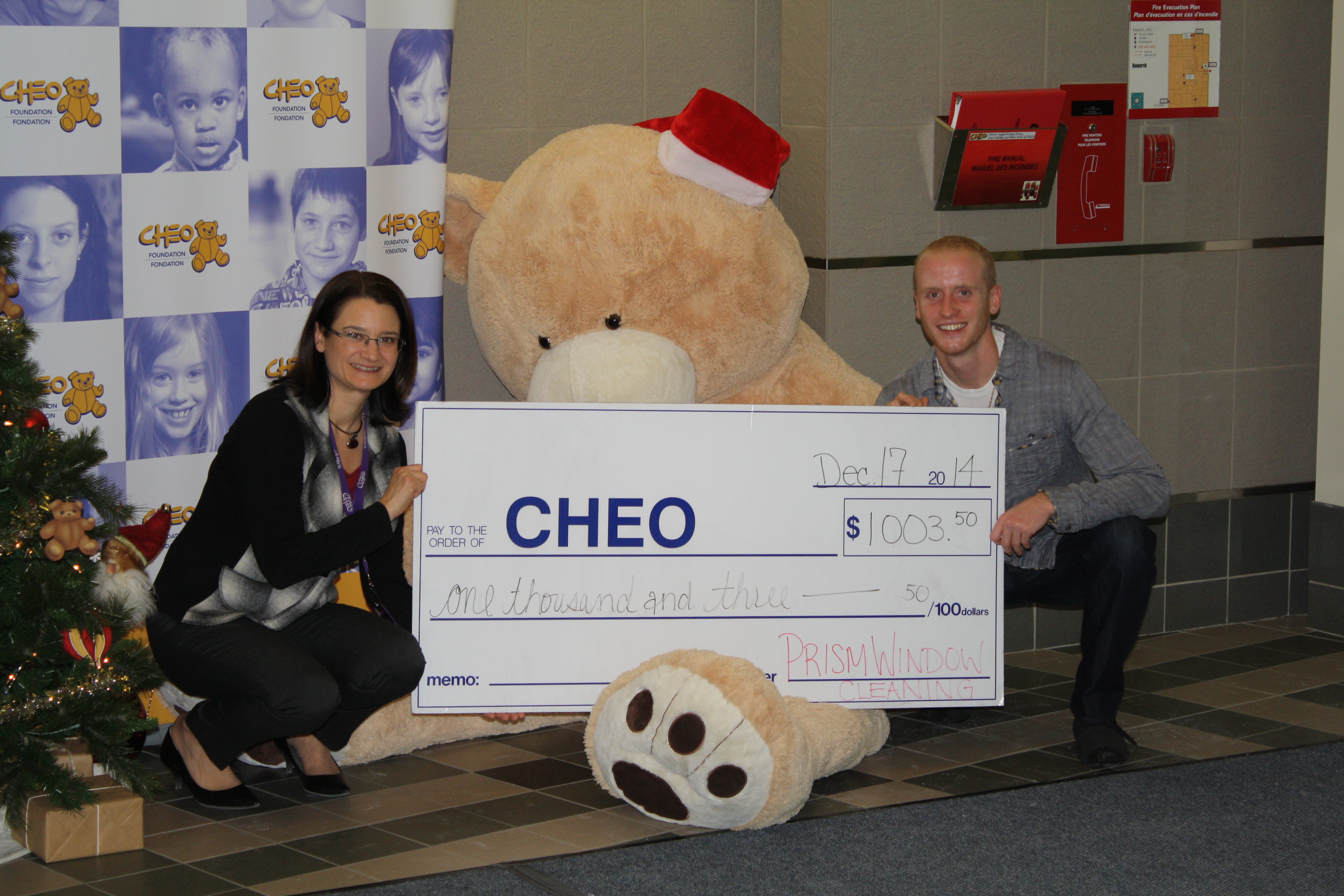 CHEO Foundation support 2014